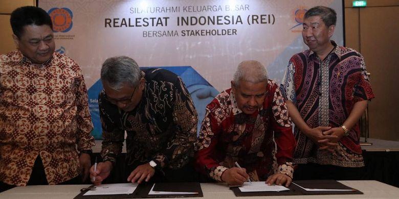 PT Perusahaan Gas Negara Tbk (PGN) dan Dewan Pengurus Pusat Persatuan Perusahaan Realestat Indonesia (REI)  memulai kerja sama yang saling menguntungkan melalui penandatanganan nota kesepahaman atau MoU (Memorandum of Understanding) di Jakarta, Selasa (25/6/2019)