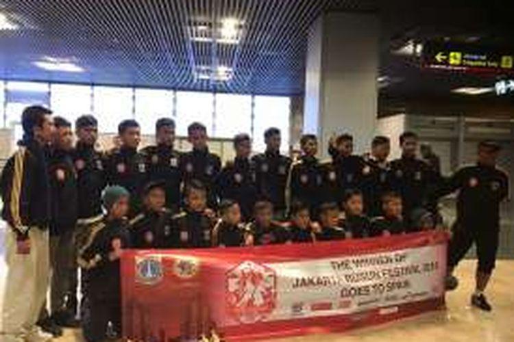 Tim pemenang Rusun Cup bakal menjalani serangkaian kegiatan di Valencia, Spanyol pada 2-9 Desember 2016.