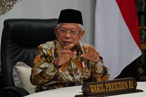 Wapres: Indonesia Tidak Bisa Jadi Pusat Halal Dunia jika Hanya Fokus Keuangan Syariah