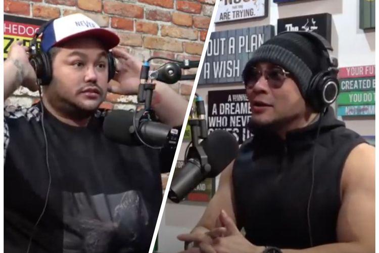 Ivan Gunawan saat jadi bintang tamu di Podcast Deddy Corbuzier