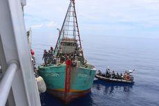 Ditembak di Anjungan, Kapal Pencuri Ikan Asal Vietnam Dilumpuhkan Bakamla, Ini Faktanya