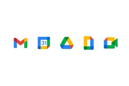 Amplop Ikonik Gmail Hilang, Ini Tampilan Logo Baru Layanan Google