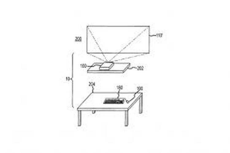 Paten Desk Free Computer milik Apple