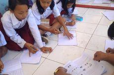 Gempa Banten Rusak Bangunan Sekolah, Puluhan Siswa SD Belajar di Bawah Pohon