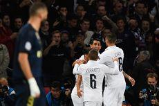 PSG Vs Real Madrid, Los Blancos Tak Berdaya di Parc des Princes