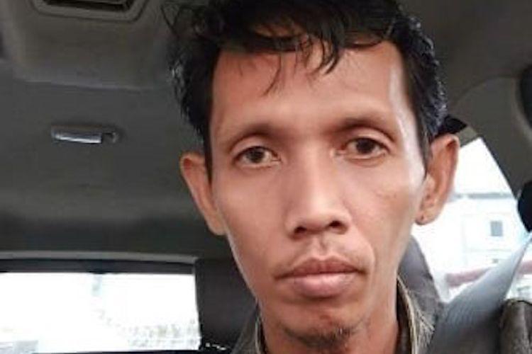 Sofyan sopir taksi online yang hilang usai mengantarkan penumpang.