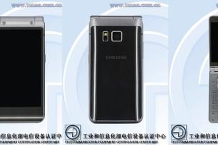 Smartphone flip Samsung yang mengusung desain Galaxy S6