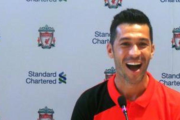 Mantan pemain Liverpool, Luis Garcia.