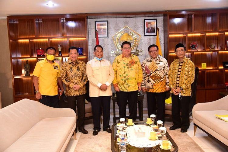 Silaturahim Pimpinan Tri Karya dengan DPP Partai Golkar, di Kantor DPP Partai Golkar Jakarta, Rabu (24/6/2020).