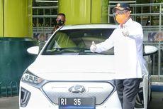 Kemenhub Resmi Pakai Mobil Listrik buat Kendaraan Dinas