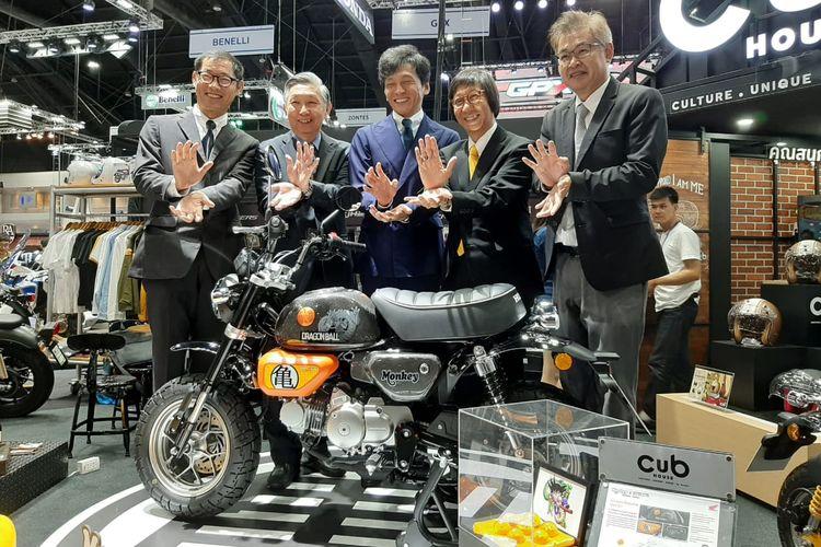 Honda Thailand meluncurkan Monkey x Dragon Ball