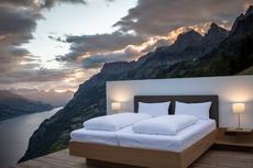 Hotel Unik di Swiss Ini Tak Miliki Atap dan Dinding, Tertarik Menginap?