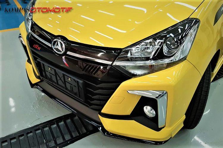 Daihatsu Ayla Facelift 2020