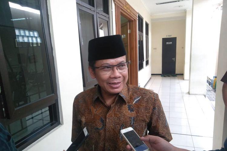 Wakil Ketua DPR RI yang menjadi terdakwa kasus korupsi Taufik Kurniawan, seusai sidang di Pengadilan Tipikor Semarang, Rabu (10/4/2019)