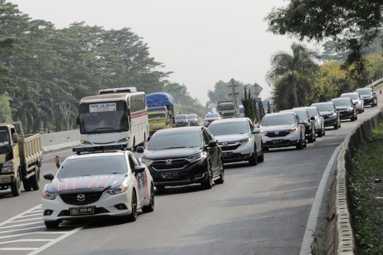 Test Drive honda CR-V di Situ Patenggang