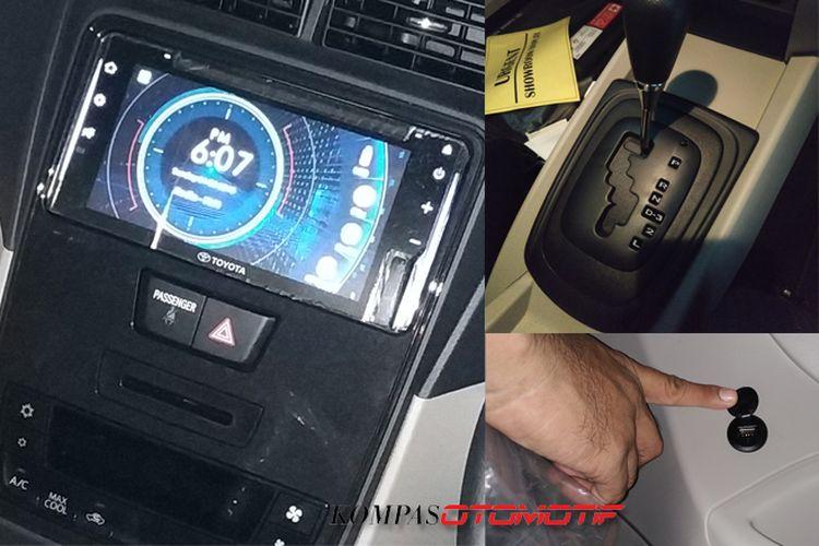 Interior Toyota Avanza Veloz 1.5L 2019