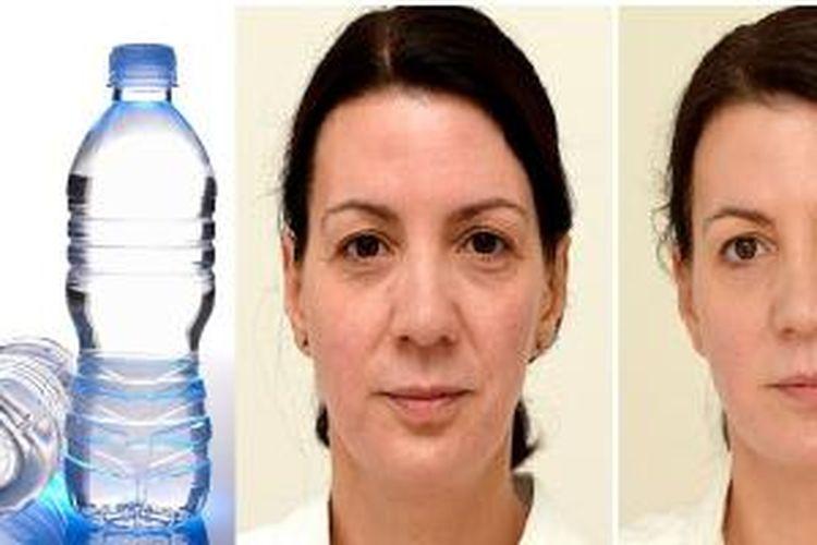 Minum Air 3 Liter Sehari Bikin Awet Muda