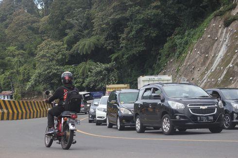 Libur Panjang, Jalur Puncak Macet 2 Kilometer
