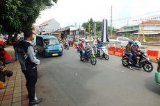 Jalur Pelintasan KA Kebon Pedes Belum Bisa Dilewati Kendaraan Setelah KRL Anjlok