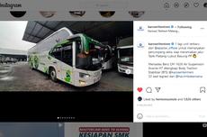 Satu Unit Lagi, Bus Baru PO EPA Star dari Karoseri Tentrem