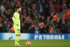 Lionel Messi Terlihat Depresi Usai Tragedi Anfield Musim Lalu