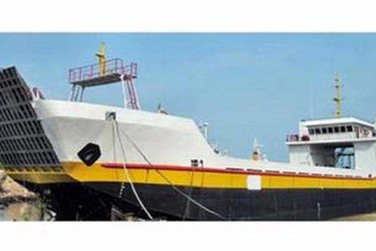 Ilustrasi. Kapal LCT.