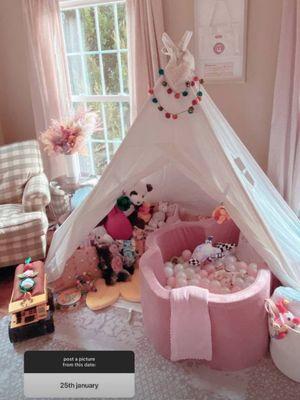 Gaya dekorasi ruang bermain putri Gigi Hadid