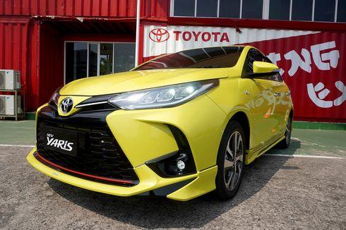 Tergerus SUV, Toyota Masih Optimistis Pasarkan Yaris Facelift