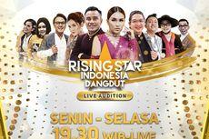 Masuk Babak Live Audition, Rising Star Indonesia Dangdut Hadirkan 73 Peserta