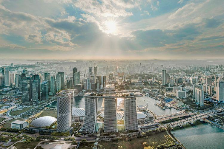 Rancangan menara keempat Marina Bay Sands