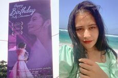 Prilly Latuconsina Syok Dapat Ucapan Ulang Tahun ke-25 Lewat Billboard