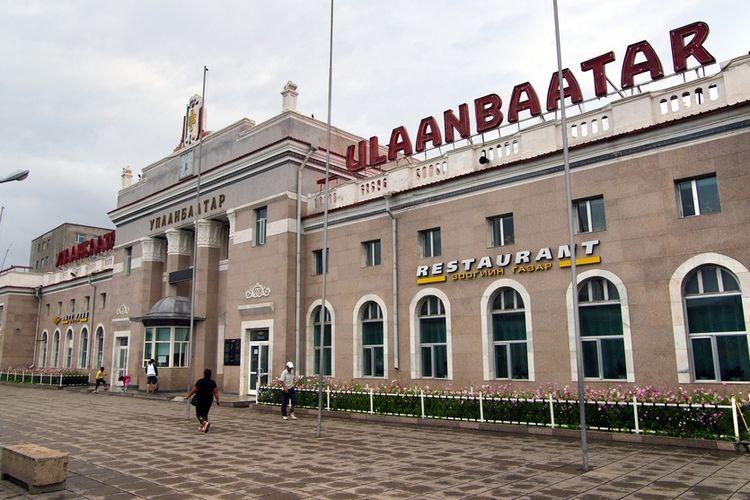 Ulaanbaatar Railway Station.