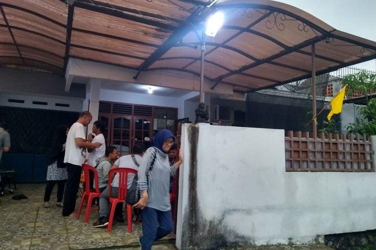 Suasana kediaman keluarga Harwinoko di Jalan Palayu, Tegal Gundil, Bogor Utara, Kota Bogor, Rabu (31/10/2018).