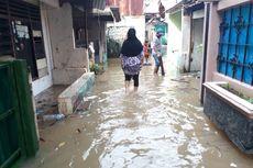 Banjir di Cawang Akibat Luapan Kali Ciliwung Berangsur Surut