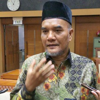 Wakil Ketua Komisi VIII DPR Marwan Dasopang saat ditemui di Kompleks Parlemen, Senayan, Jakarta, Senin (26/8/2019).