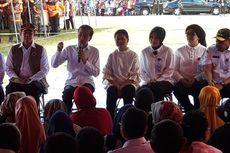 Di Hadapan Jokowi, Pengungsi Gempa Maluku Curhat soal Tenda Sobek