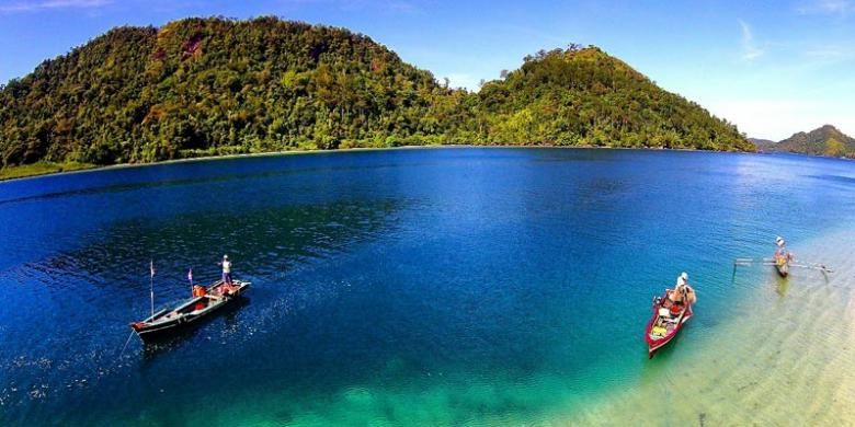 Pulau Pasumpahan di Sumatera Barat