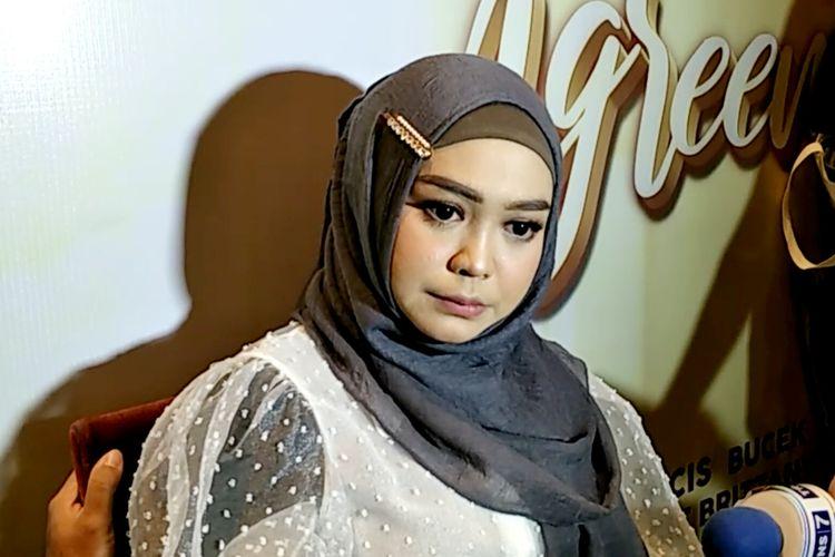 YouTuber Ria Ricis saat ditemui di gala premiere film Wedding Agreement di XXI Epicentrum, Jakarta Selatan, Selasa (30/7/2019).