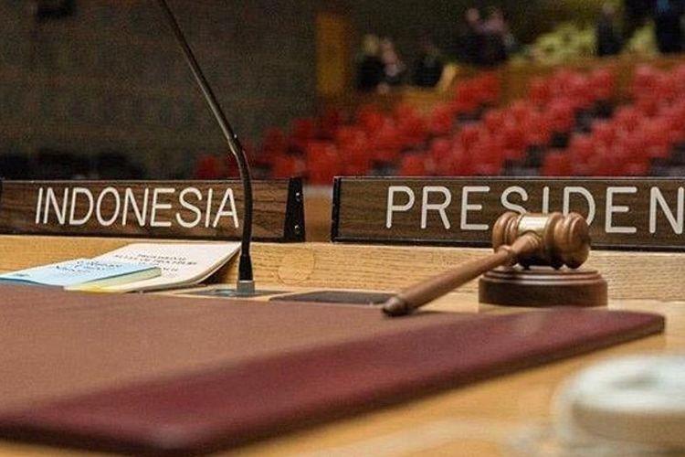 Indonesia akan menjalankan peran sebagai Presiden Dewan Keamanan Persatuan Bangsa-Bangsa (DK PBB) mulai 1 Mei hingga 31 Mei 2019.