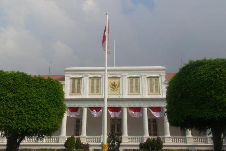 Suasana Istana Negara jelang Hari Kemerdekaan ke 71 Republik Indonesia.