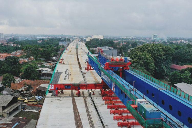 PT Marga Sarana Jabar (MSJ) kebut pembangunan Jalan Tol BORR Seksi 3A.