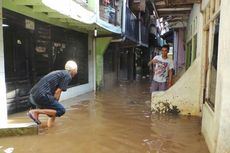 Ini Lokasi Banjir di Jakarta pada Lebaran Pertama