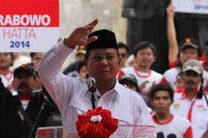 Cuaca Buruk, Prabowo Batal Naik Helikopter untuk Kampanye di Sentul