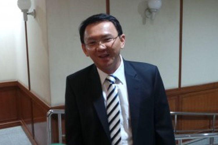 Wakil Gubernur DKI Jakarta Basuki Tjahaja Purnama di Balaikota DKI Jakarta, Senin (24/6/2013).