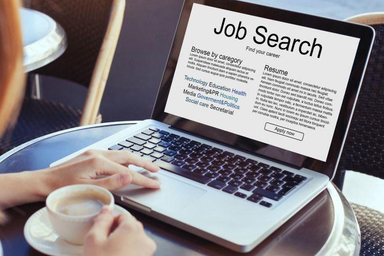 Ilustrasi mencari pekerjaan