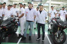 Marquez Bocorkan Motor Baru Honda, Meluncur Hari ini