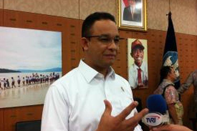 Menteri Pendidikan dan Kebudayaan Anies Baswedan.