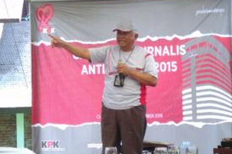 Ketua sementara KPK Taufiequrrachman Ruki