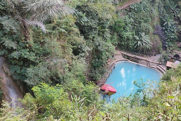Obyek wisata Kedung Pedut di Kapanewo Girimulyo, Kulon Progo, Daerah Istimewa Yogyakarta. Dengan menerapkan protokol kesehatan ketat, Kedung Pedut siap membuka diri bagi wisatawan.
