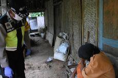 Warga Menangis Histeris Setelah Menerima Bantuan dari Polisi
